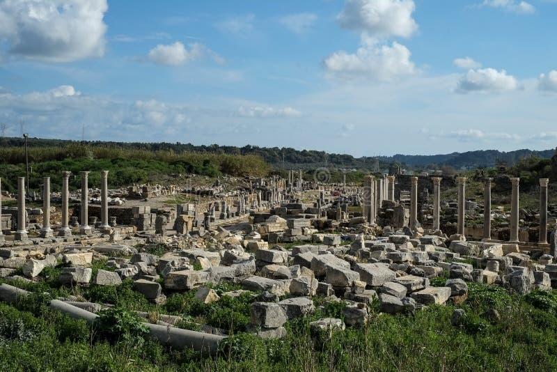 Perge en Turquía fotos de archivo libres de regalías