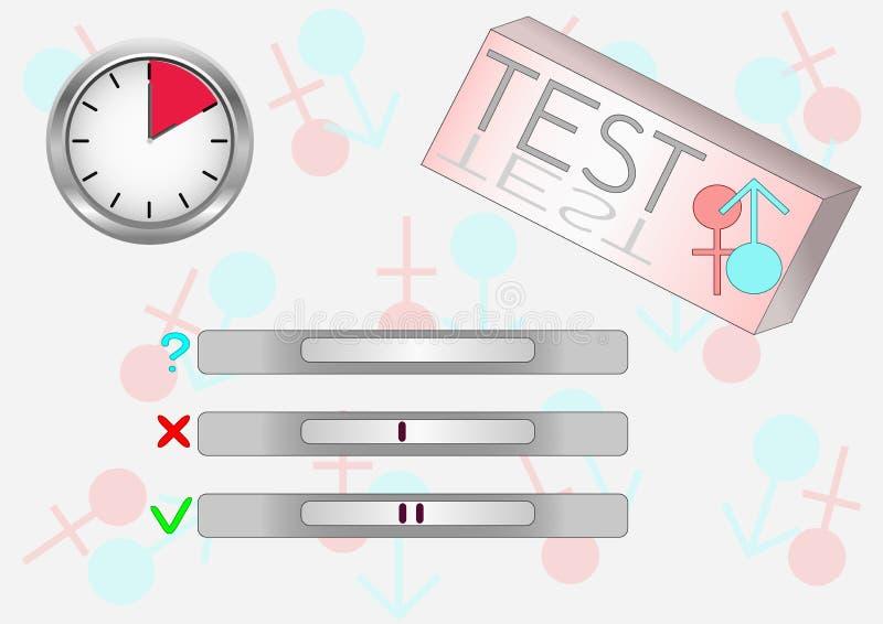Download Pergnancy test stock vector. Illustration of time, illustration - 15972859