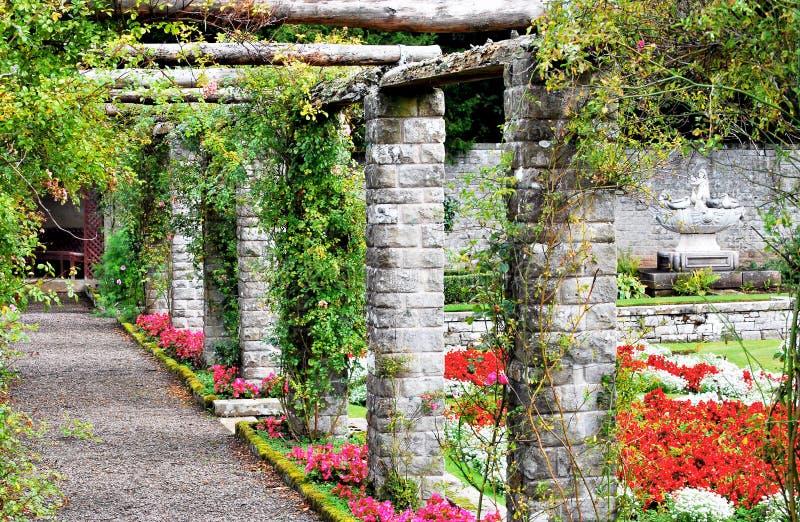 Pergola stock foto afbeelding bestaande uit baksteen 16263772 - Pergola verkoop ...
