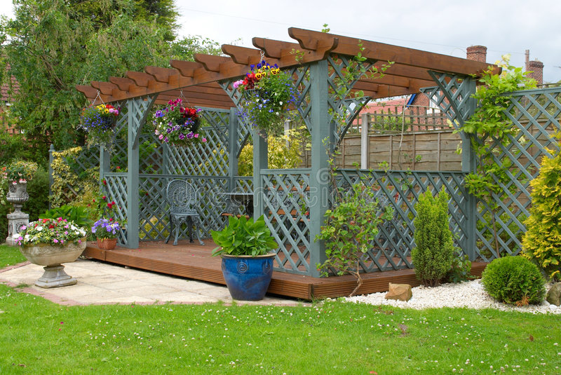 Pergola photographie stock