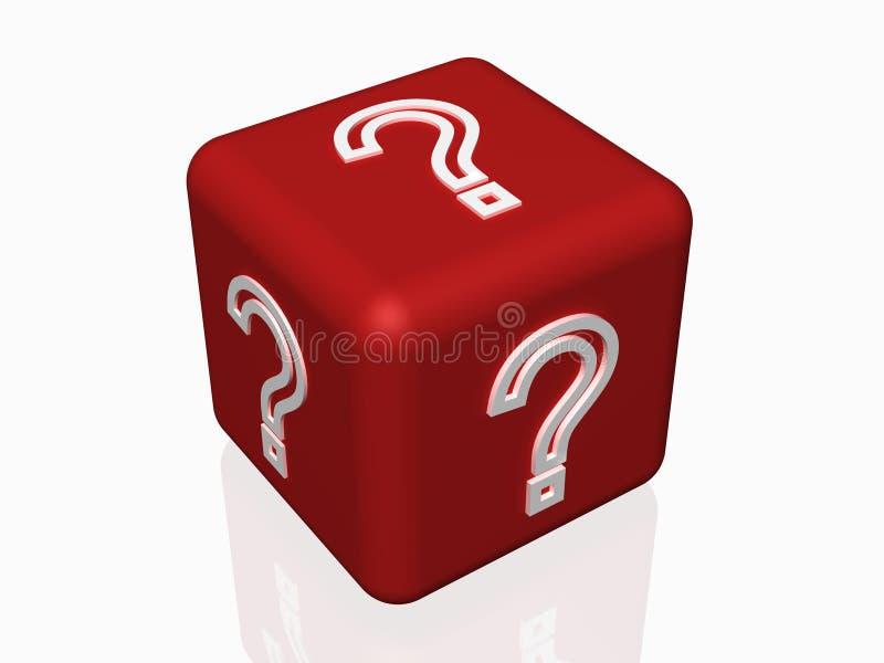Pergunta do conceito do FAQ ilustração royalty free