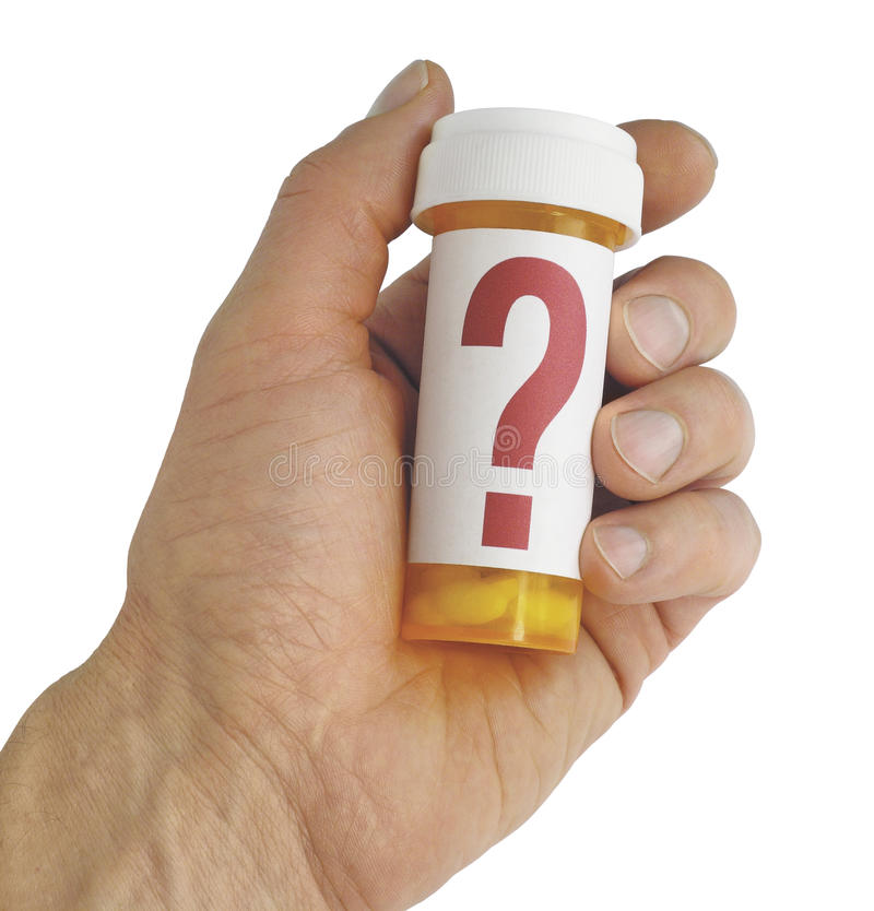 Perguntas sobre a medicina imagens de stock royalty free