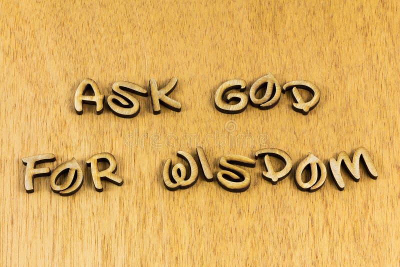 Pergunte a Deus por sabedoria orientação da verdade amor oração salvação oração divina ensino fotos de stock royalty free