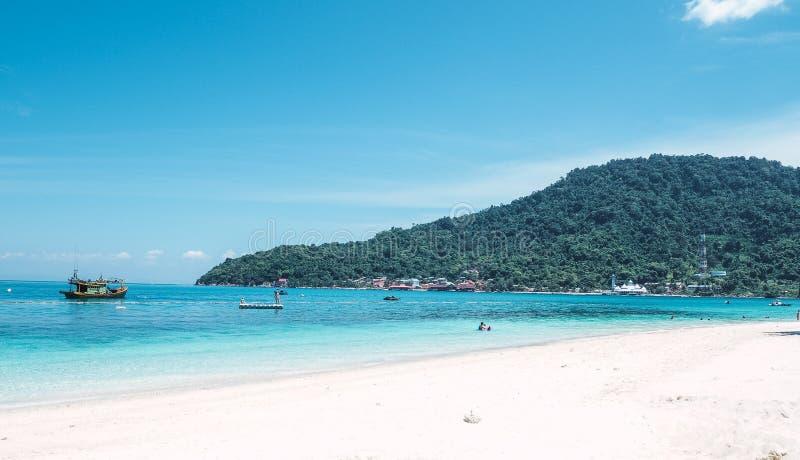 Perhentian-Insel, Malaysia - 12. JULI 2019 lizenzfreie stockfotos