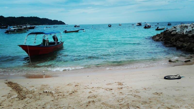 perhentian pulau стоковые фотографии rf
