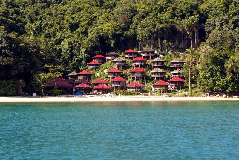 Perhentianeilanden - Maleisië stock afbeelding