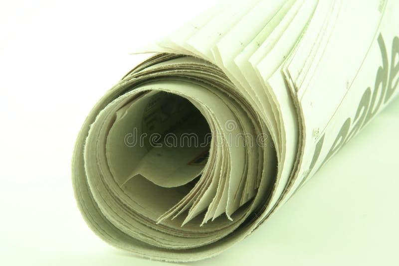 Periódico fotos de archivo libres de regalías