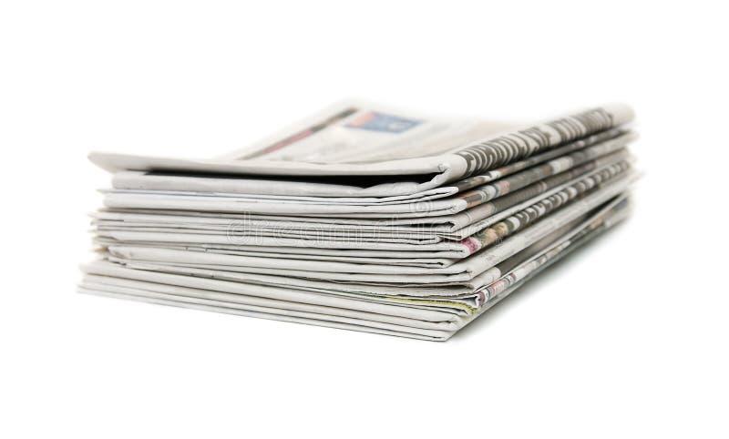 Periódicos fotos de archivo libres de regalías