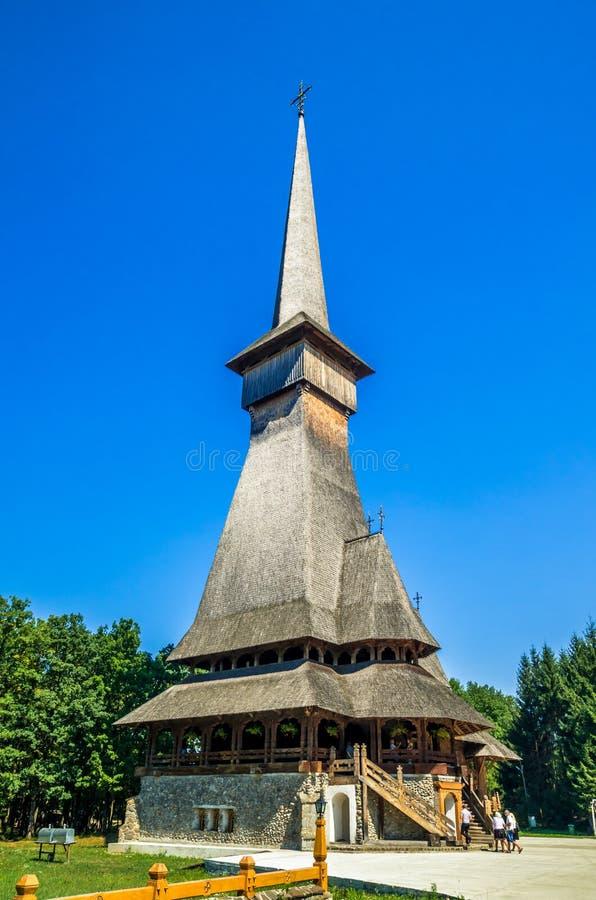 Peri monaster od Sapanta, Rumunia zdjęcie stock