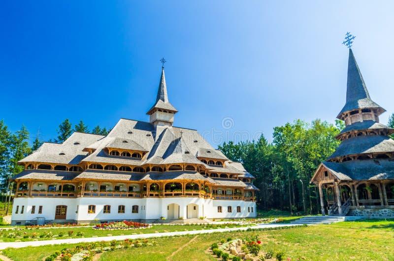 Peri monaster od Sapanta, Rumunia obrazy stock