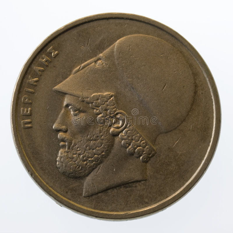 Download Pericles, Ancient Greek Leader And Statesman, On 2 Stock Image - Image: 5071727