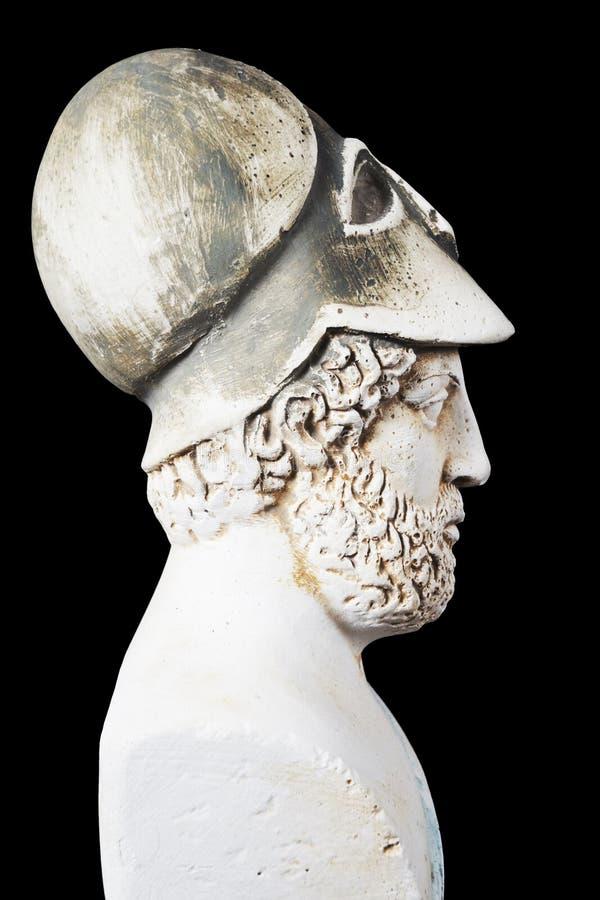 Pericles był mężem stanu, krasomówcą i generałem Athe starożytnego grka, obrazy stock