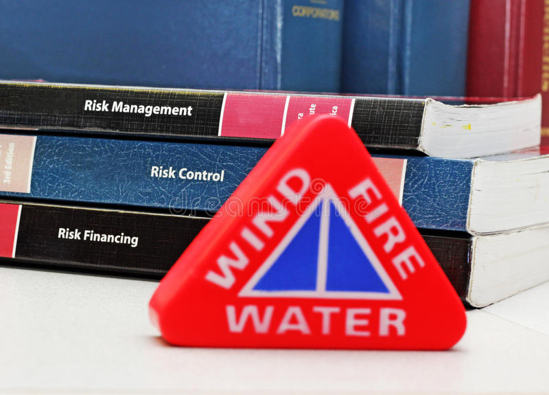 Pericoli e gestione dei rischi fotografia stock libera da diritti