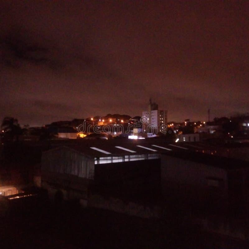Periferia del na de Noite imagen de archivo libre de regalías