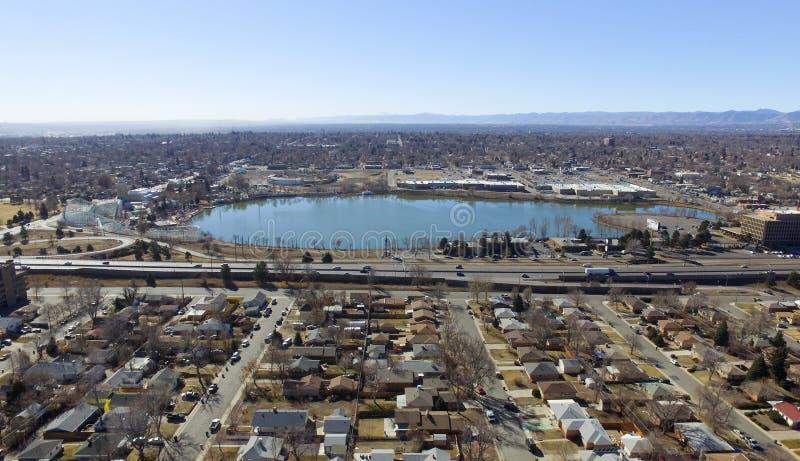 Periferia di Denver immagini stock libere da diritti