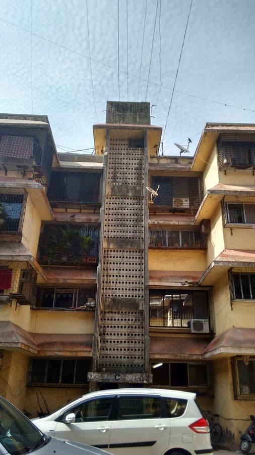 Periferia di Mumbai immagini stock libere da diritti