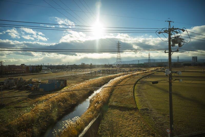Periferie di Kyoto fotografie stock libere da diritti