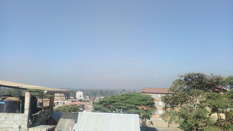Periferie di Nairobi immagini stock libere da diritti