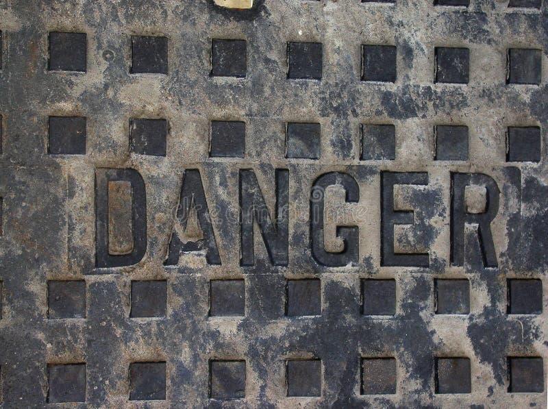 Download Perigo foto de stock. Imagem de utility, metal, pesado, manhole - 54414