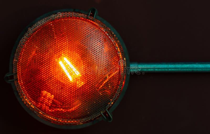 Perigo claro vermelho dos períodos imagens de stock