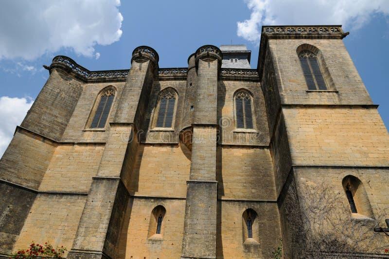 Perigord, το γραφικό κάστρο Biron σε Dordogne στοκ εικόνα με δικαίωμα ελεύθερης χρήσης