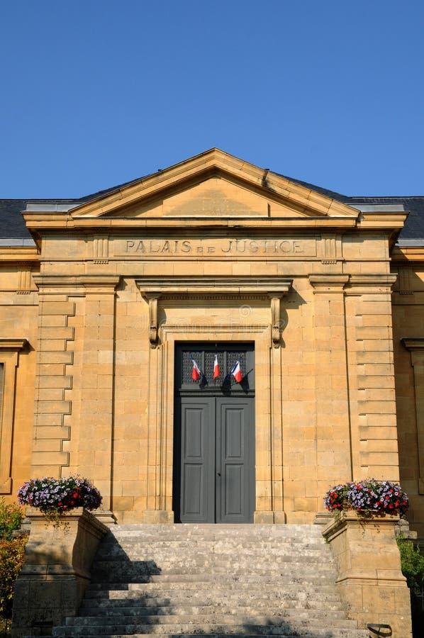 Perigord, le palais de justice de La Caneda de Sarlat dans Dordogne image stock
