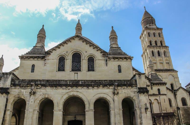 Perigueuxkathedraal, Aquitaine, Frankrijk royalty-vrije stock fotografie