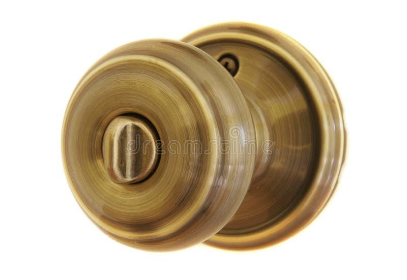 Perilla de puerta imagen de archivo