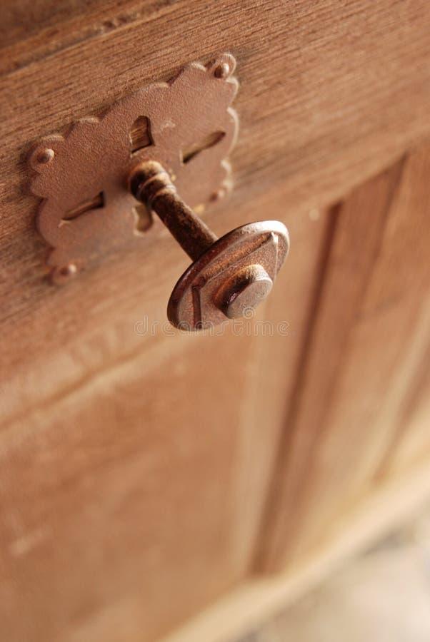 Perilla de puerta gótica del estilo imágenes de archivo libres de regalías