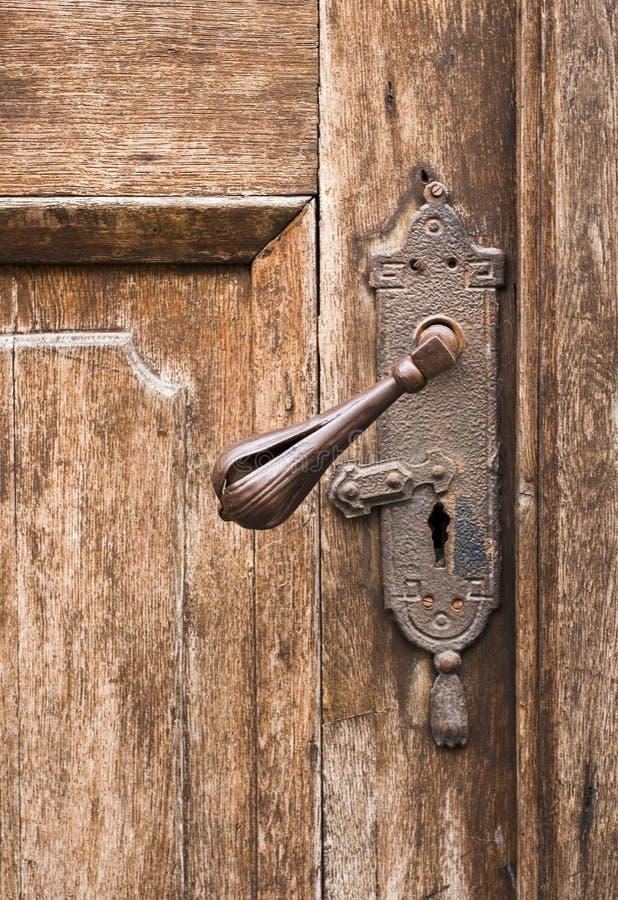 Perilla de puerta vieja imagenes de archivo