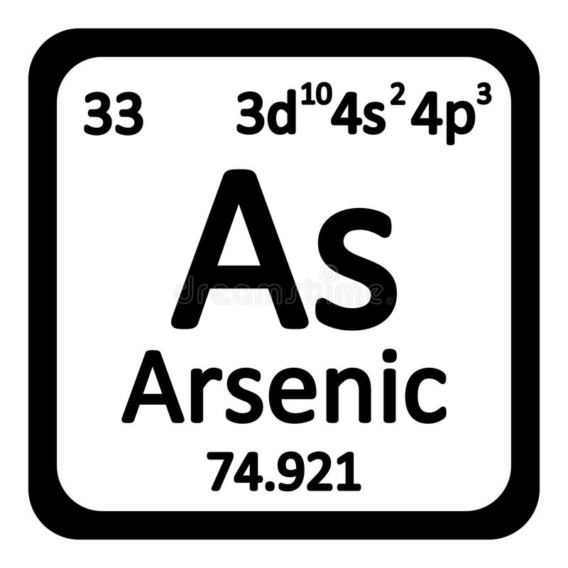 Periodic Table what family does arsenic belong to on the periodic table : Periodic Table Element Arsenic Icon. Stock Illustration ...