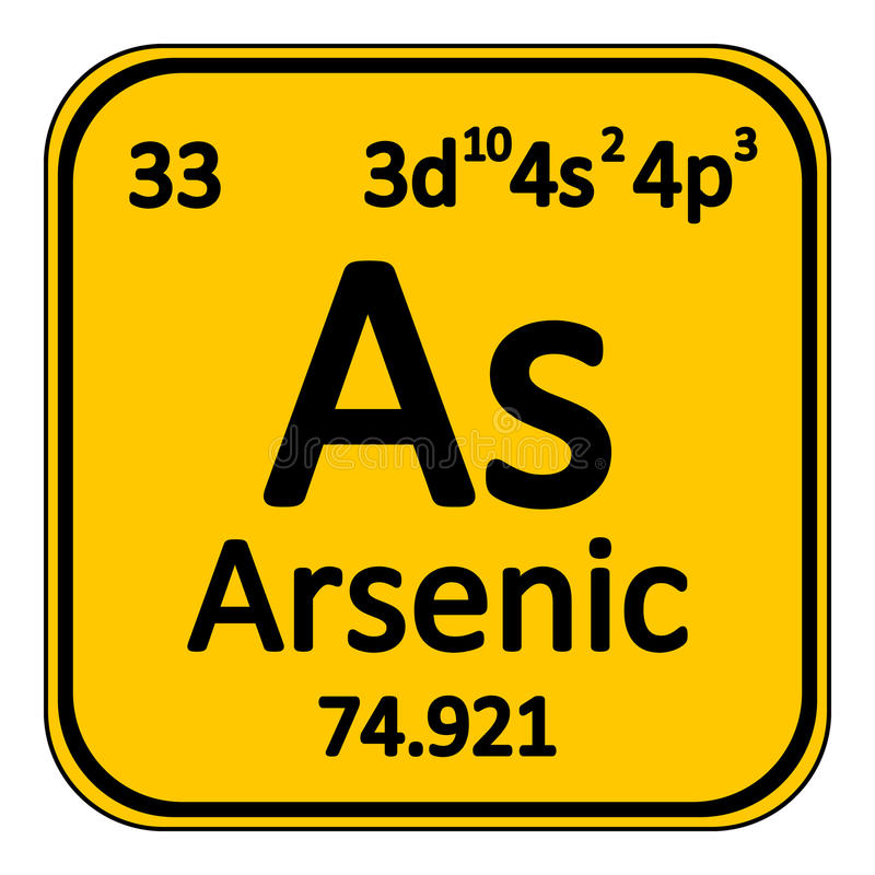 Periodic Table what family does arsenic belong to on the periodic table : Periodic Table Element Arsenic Icon. Stock Illustration - Image ...