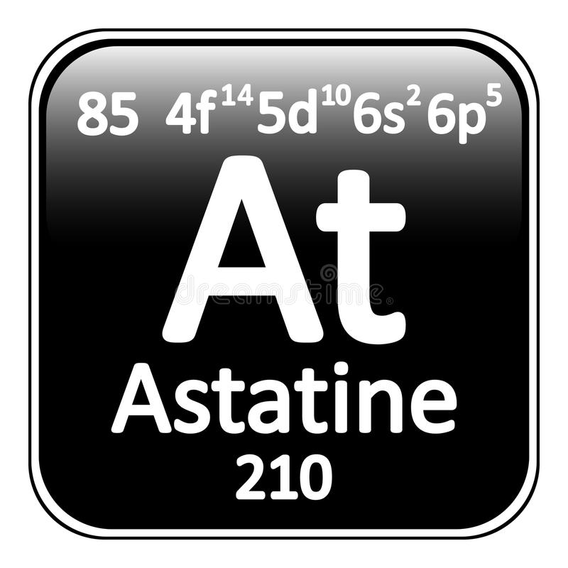 Periodic table element astatine icon stock illustration download periodic table element astatine icon stock illustration illustration of black mass urtaz Gallery