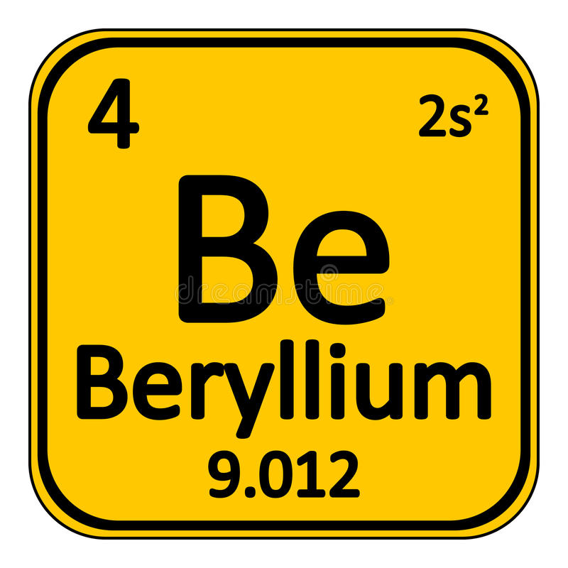 Periodic table element beryllium icon stock illustration download periodic table element beryllium icon stock illustration illustration of beryllium chemical urtaz Image collections