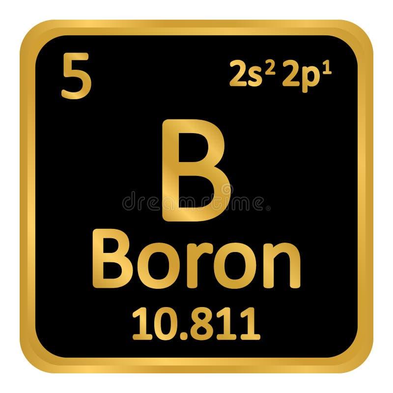 Periodic table element boron icon stock illustration illustration download periodic table element boron icon stock illustration illustration of nature mendeleev urtaz Image collections
