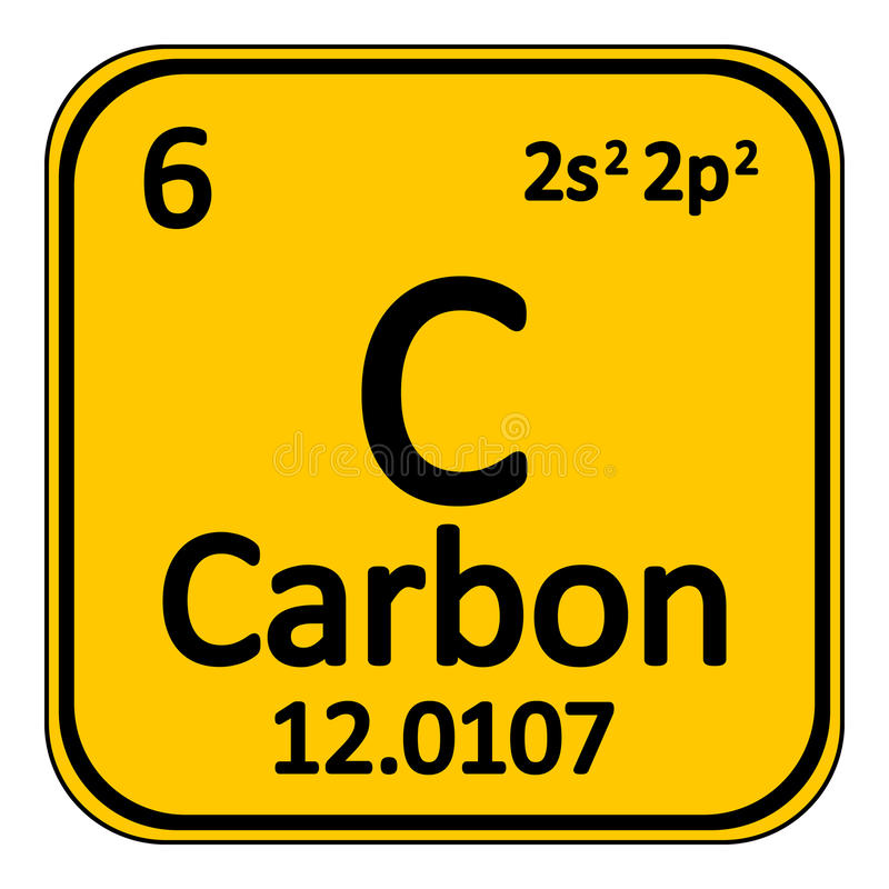 download periodic table element carbon icon stock illustration illustration of notification education - Periodic Table Carbon