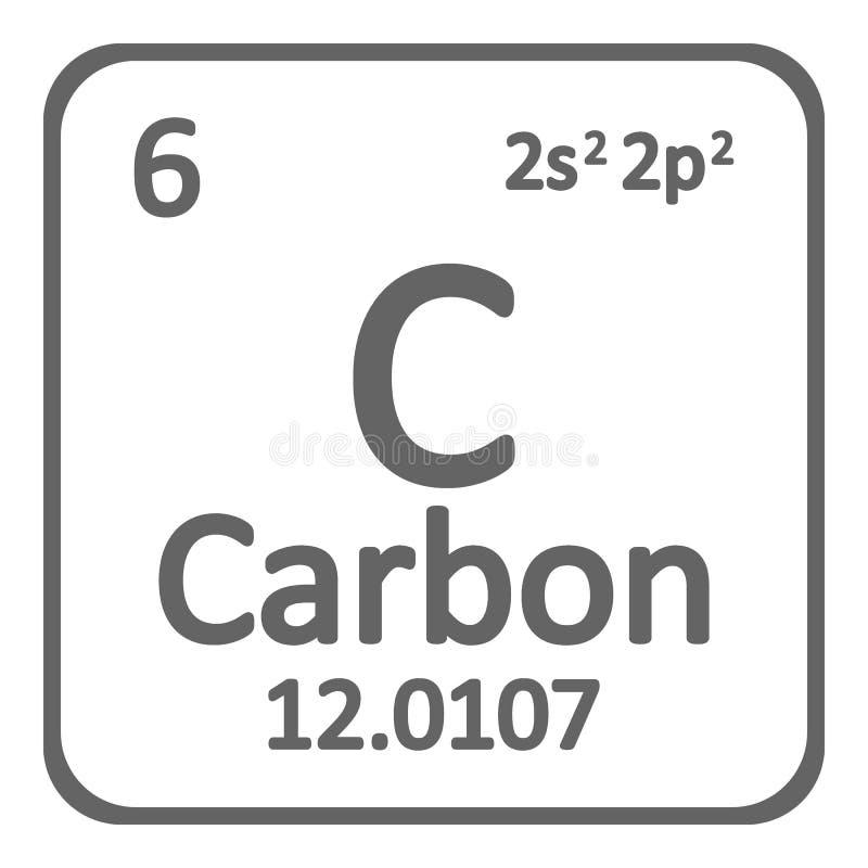 Periodic table element carbon icon stock illustration download periodic table element carbon icon stock illustration illustration of mendeleev nature urtaz Gallery