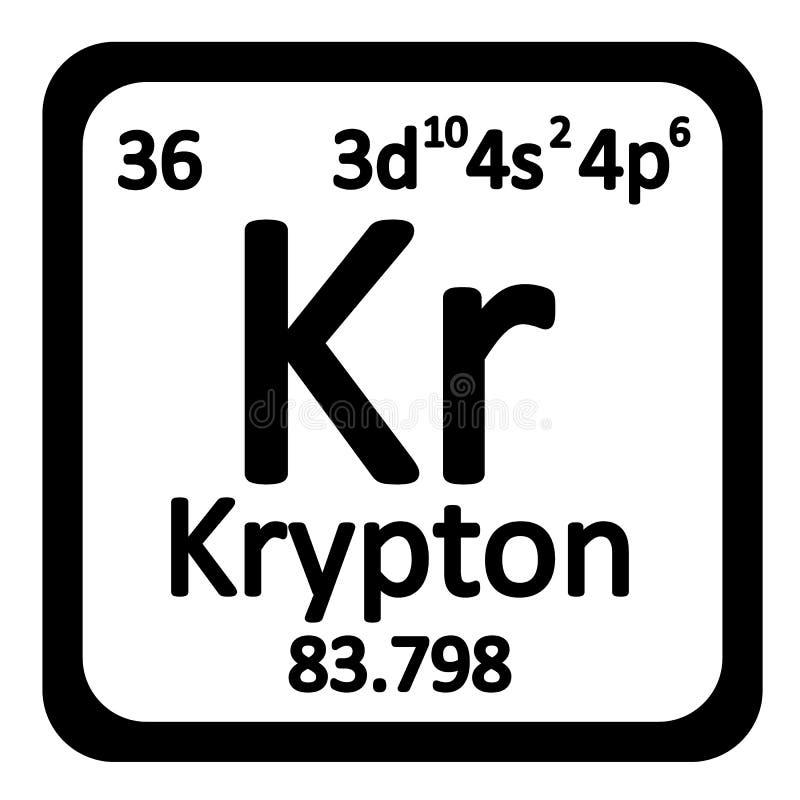 Periodic table element krypton icon stock illustration download periodic table element krypton icon stock illustration illustration of atom material urtaz Choice Image