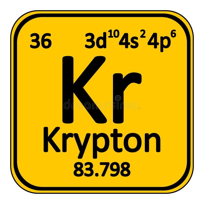 Periodic table element krypton icon stock illustration download periodic table element krypton icon stock illustration illustration of laboratory design urtaz Choice Image