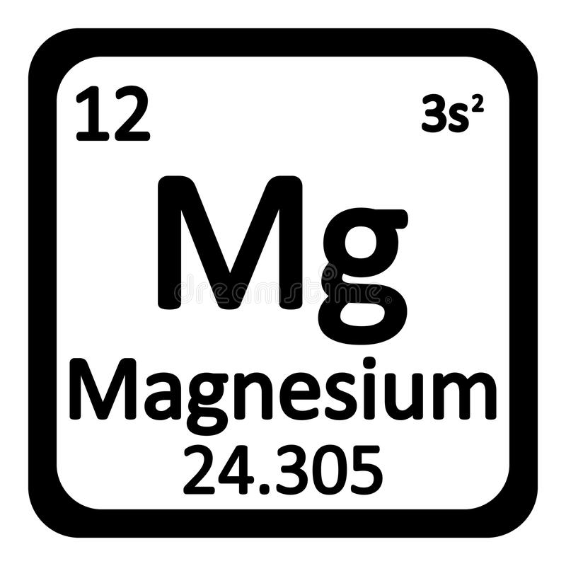Periodic table element magnesium icon stock illustration download periodic table element magnesium icon stock illustration illustration of magnesium nature urtaz
