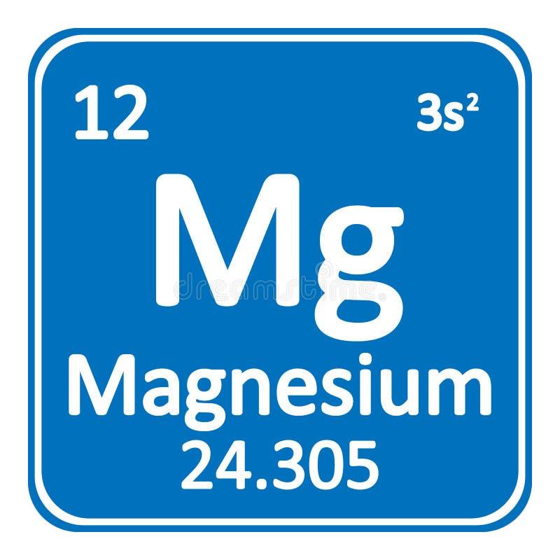 Periodic table element magnesium icon stock illustration download periodic table element magnesium icon stock illustration illustration of nature black urtaz Image collections