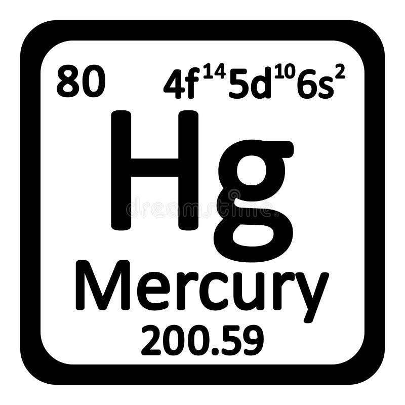 Periodic table element mercury icon stock illustration download periodic table element mercury icon stock illustration illustration of proton chemical urtaz Image collections