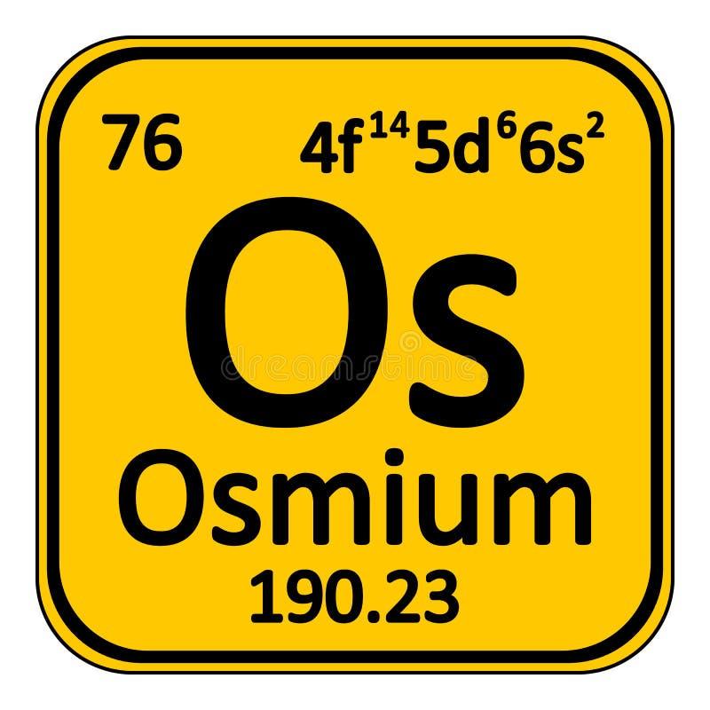 Periodic table element osmium icon stock illustration download periodic table element osmium icon stock illustration illustration of metal element urtaz Images