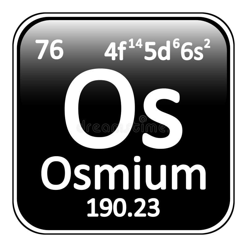 Periodic table element osmium icon white background 79511209g download periodic table element osmium icon stock illustration illustration of science material urtaz Images