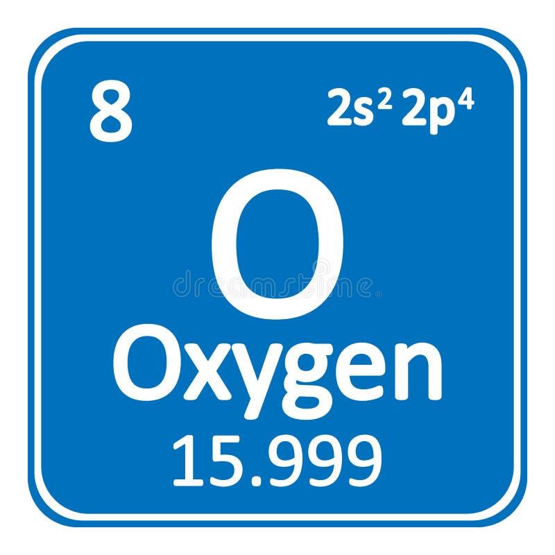 Periodic table element oxygen icon stock illustration download periodic table element oxygen icon stock illustration illustration of notification oxygen urtaz Gallery