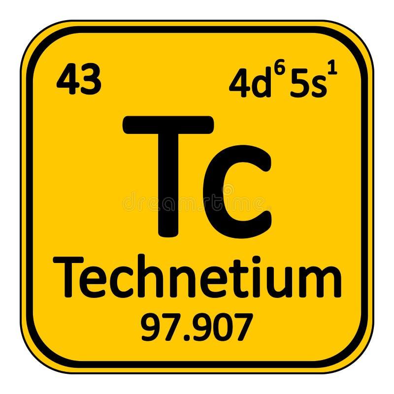 Periodic table element technetium icon stock illustration download periodic table element technetium icon stock illustration illustration of atomic caution urtaz Images