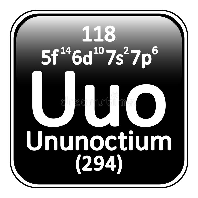 Periodic table element ununoctium icon stock illustration download periodic table element ununoctium icon stock illustration illustration of design radioactive urtaz Images