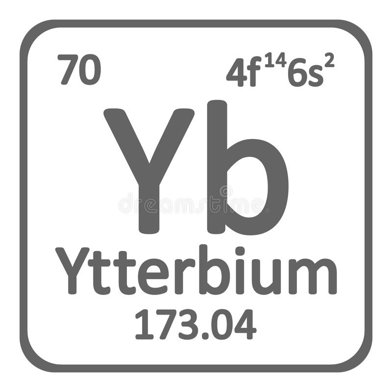 Periodic table element ytterbium icon stock illustration download periodic table element ytterbium icon stock illustration illustration of rare education urtaz Images