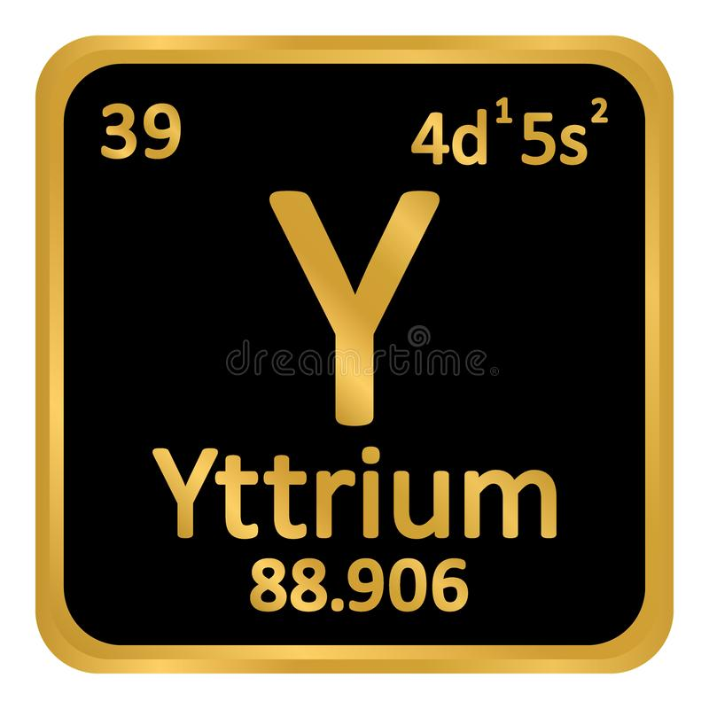 Periodic table element yttrium icon stock illustration download periodic table element yttrium icon stock illustration illustration of metal button urtaz Images
