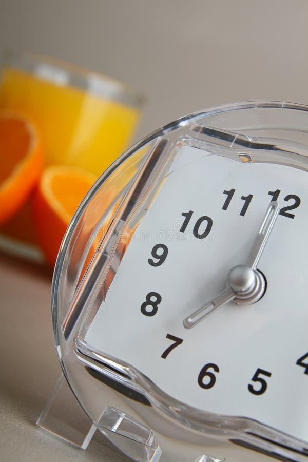 Periodo della prima colazione fotografia stock